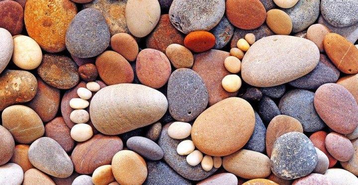 Baby stone footprints by Iain Blake