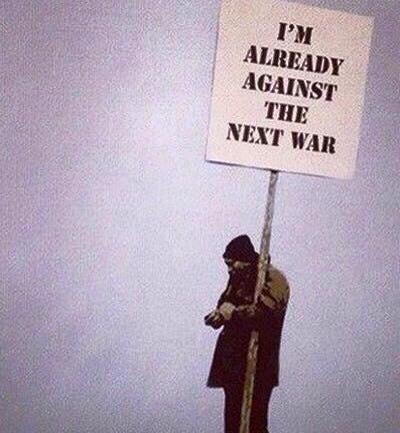 Already AGAINST the next WAR !!