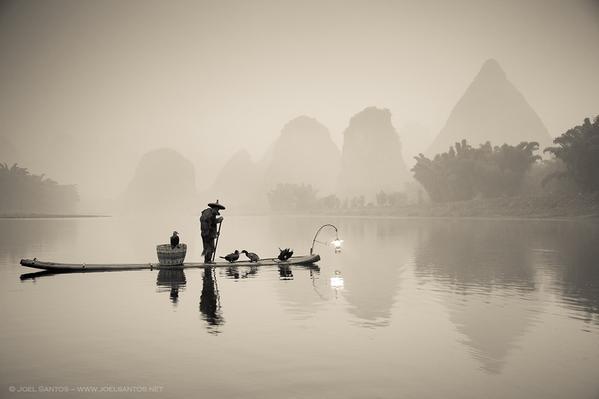 Yangshuo fishing stlye