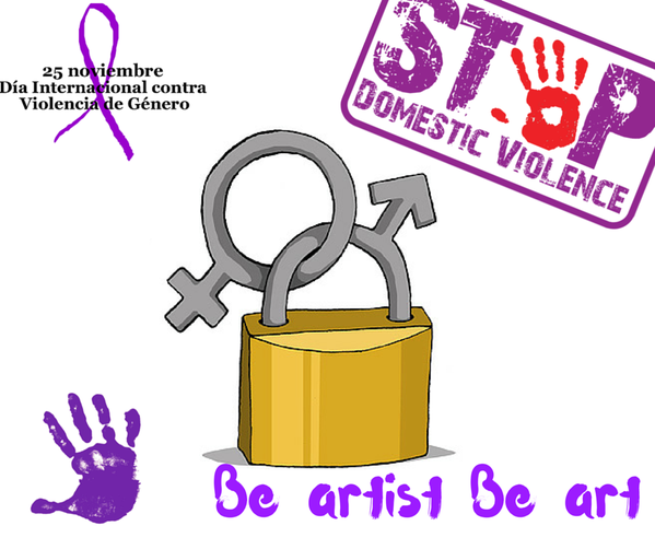 #STOP #GenderViolence - by Be artist Be art
