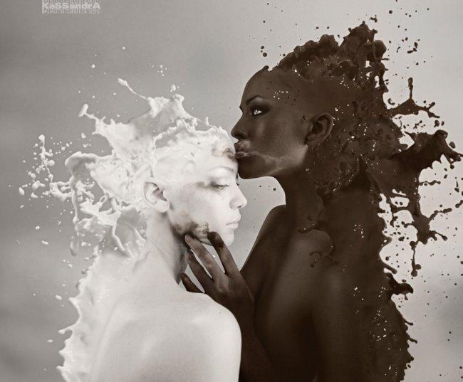 Milky love - by Kassandra