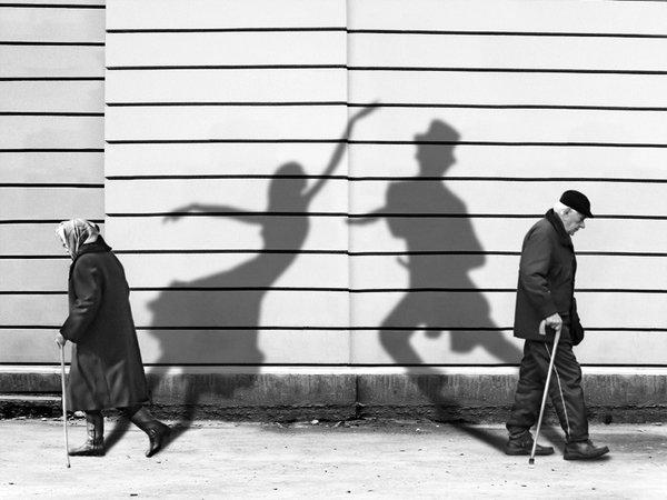 Shadows of past - by Lyubomir Bukov - Be artist Be art