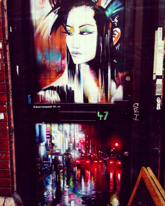 London (Brick Lane) street art!! 🎨👌🏾😋
