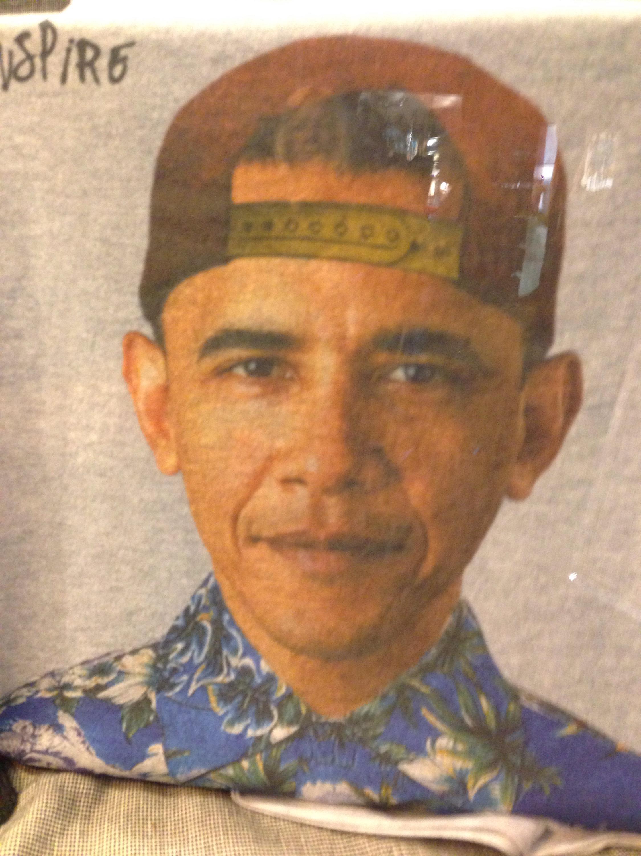 Obama hipster