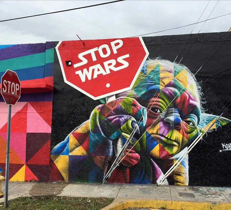 STOP Wars ! !  by Be artist Be art