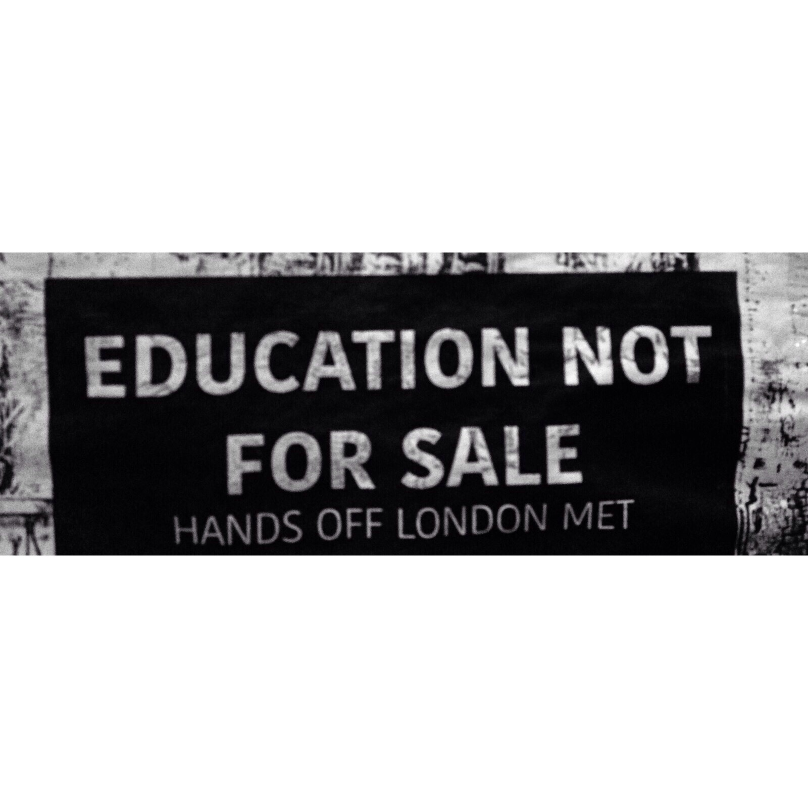 Education NOT for sale! - Be artist Be art