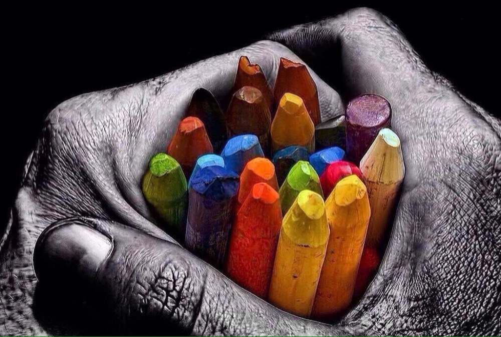 Paint your own life, do it colorful! - Be artist Be art