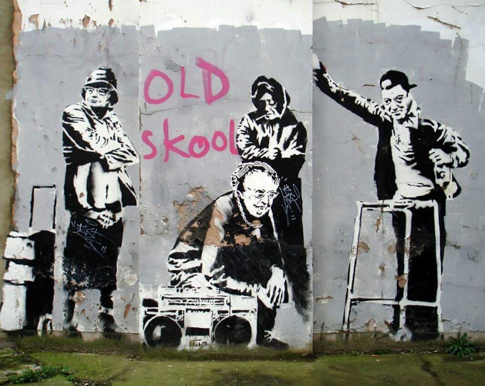 Old year, Old school - Be artist Be art