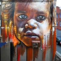 Hyper real Street art - by Adnate (Gallery)