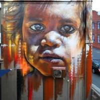 Hyper real Street art - by Adnate (Gallery)