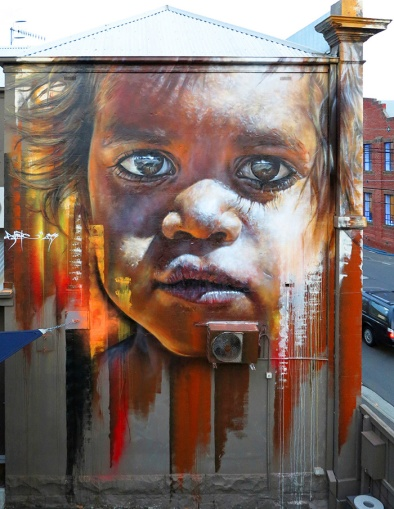 Hyper real Street art - by Adnate - be artist be art - urban magazine