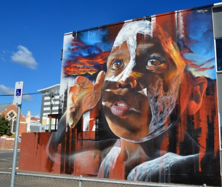 Hyper real Street art - by Adnate