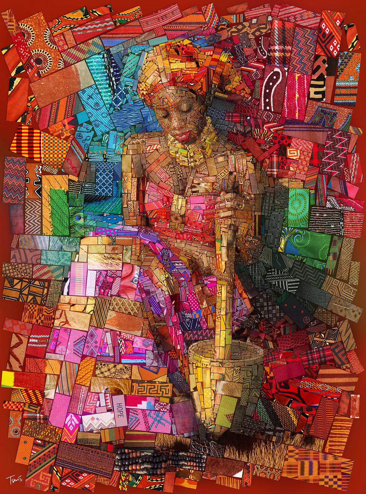 Afrikan brick Art - by Charis Tsevis - be artist be art - urban magazine