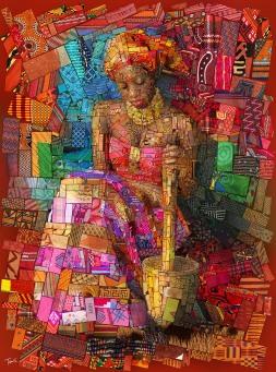 Afrikan brick Art - by Charis Tsevis - be artist be art - urban magazine