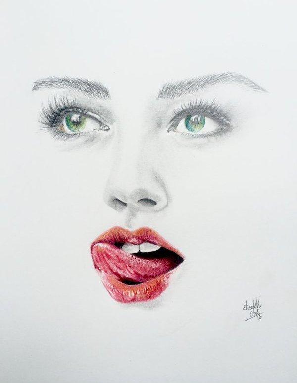 Red sexy lips - Be artist Be art - urban magazine