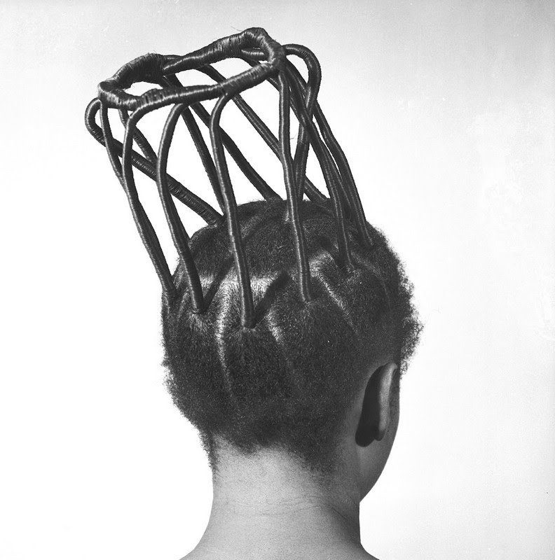 Wild hair - by JD 'Okhai Ojeikere - Beartist Be art