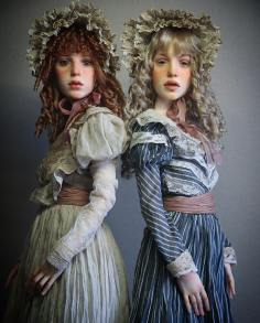 Human Dolls - by Michael Zajkov - Be artist Be art - urban magazine
