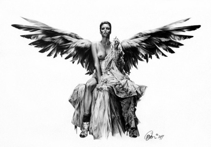stunning pencil drawings - by Mario Pichler  - Be artist Be art