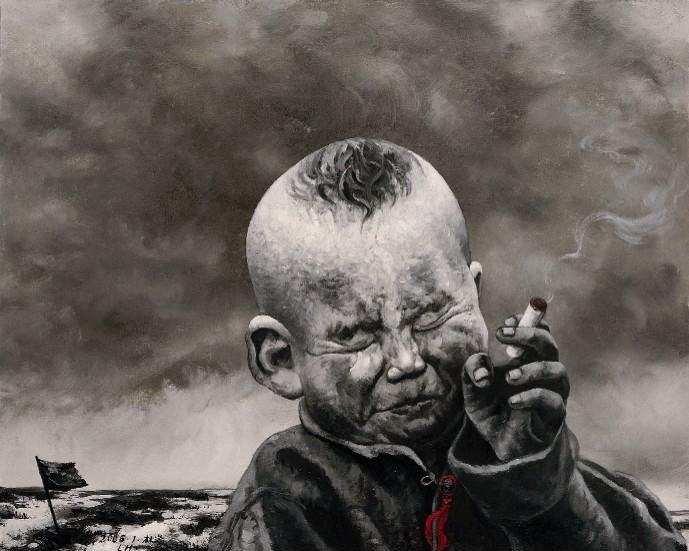 Kaos - by Zhang Linhai - Be artist Be art