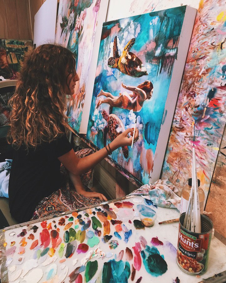 Painting Dreams - by Dimitra Milan - Be artist Be art - urban magazine
