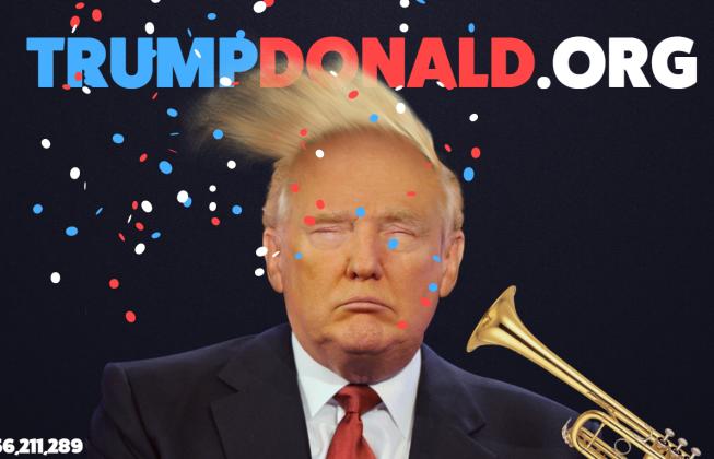 trumpdonald.org - Trump Donald ! - be artist be art - urban magazine