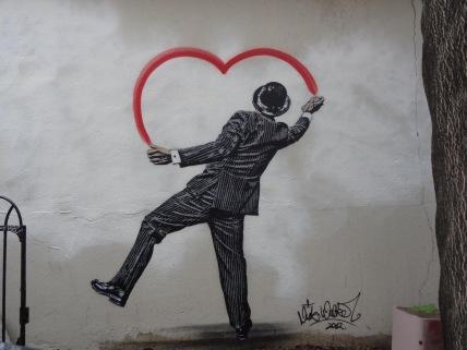 Spread love for Art - Street art - be artist be art