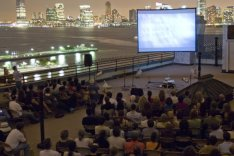 Rooftop Films NY - by Paloma Martinez - be artist be art