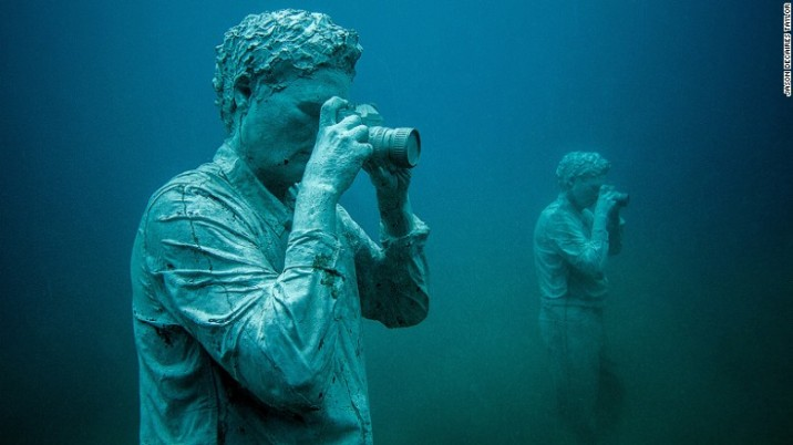 Under water museum - by Jason DeCaires Taylor - be artist be art