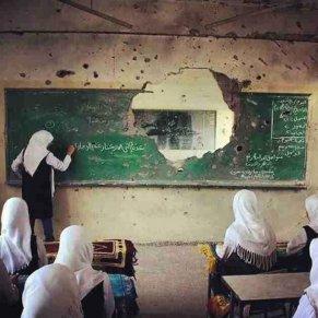 War -You can´t kill education - be artist be art - urban magazine