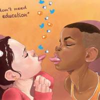 """we don´t need education"" - by Luis Quiles"