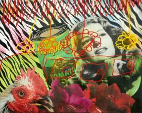 Contemporary Art - by A.L.M.A - be artist be art