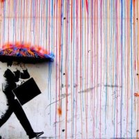 Raining Art - Colorful Street Art