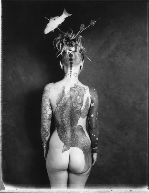 Body art - wild beauty - be artist be art