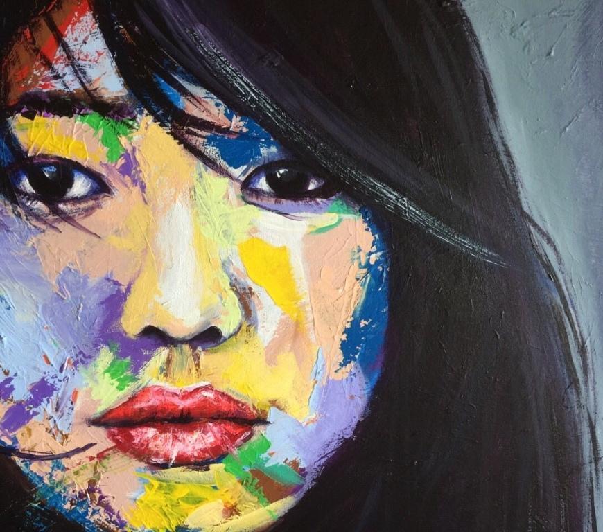 Unique Faces - by Blair Logan - Be artist Be art