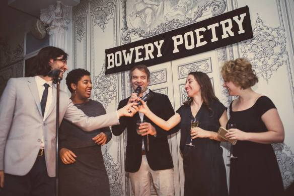 Bowery poetry Club - be artist be art