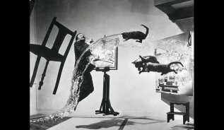Dalí Atomicus - by Philippe Halsman - Be artist Be art