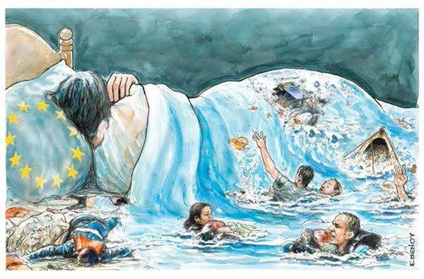 Save the values - Save the #Refugees - be artist be art