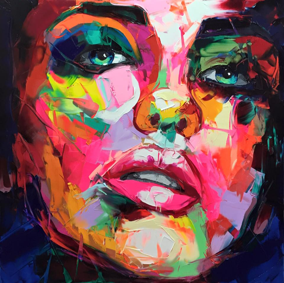 Alive in colours - by Françoise Nielly