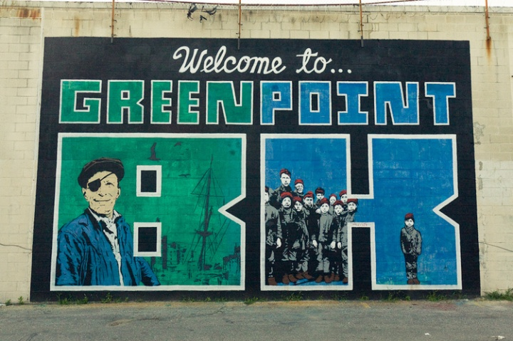 Greenpoint, creative hood of NY - by Caminando por NY - be artist be art