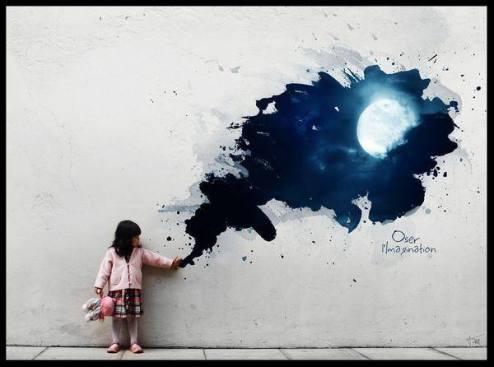 Imagine - Street Art - be artist be art