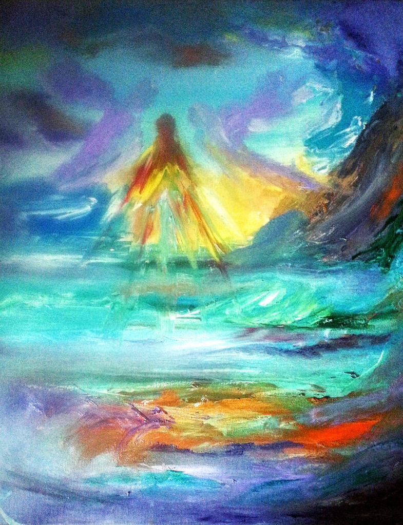 Angel Art - by Audrey Keenan - be artist be art