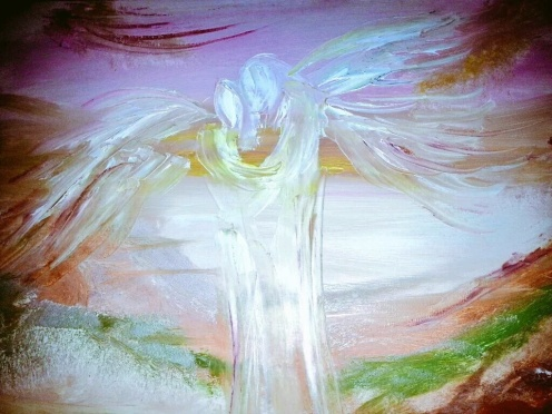 Angel Art - by Audrey Keenan - be artist be art