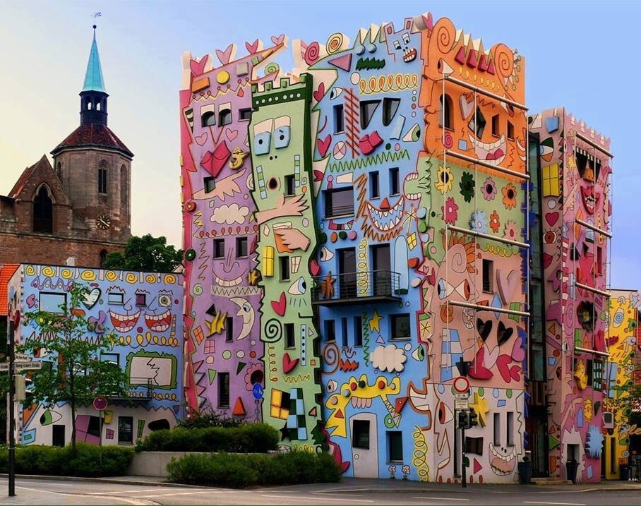 Happy Rizzi, Happy streetart - Brunswick, Germany