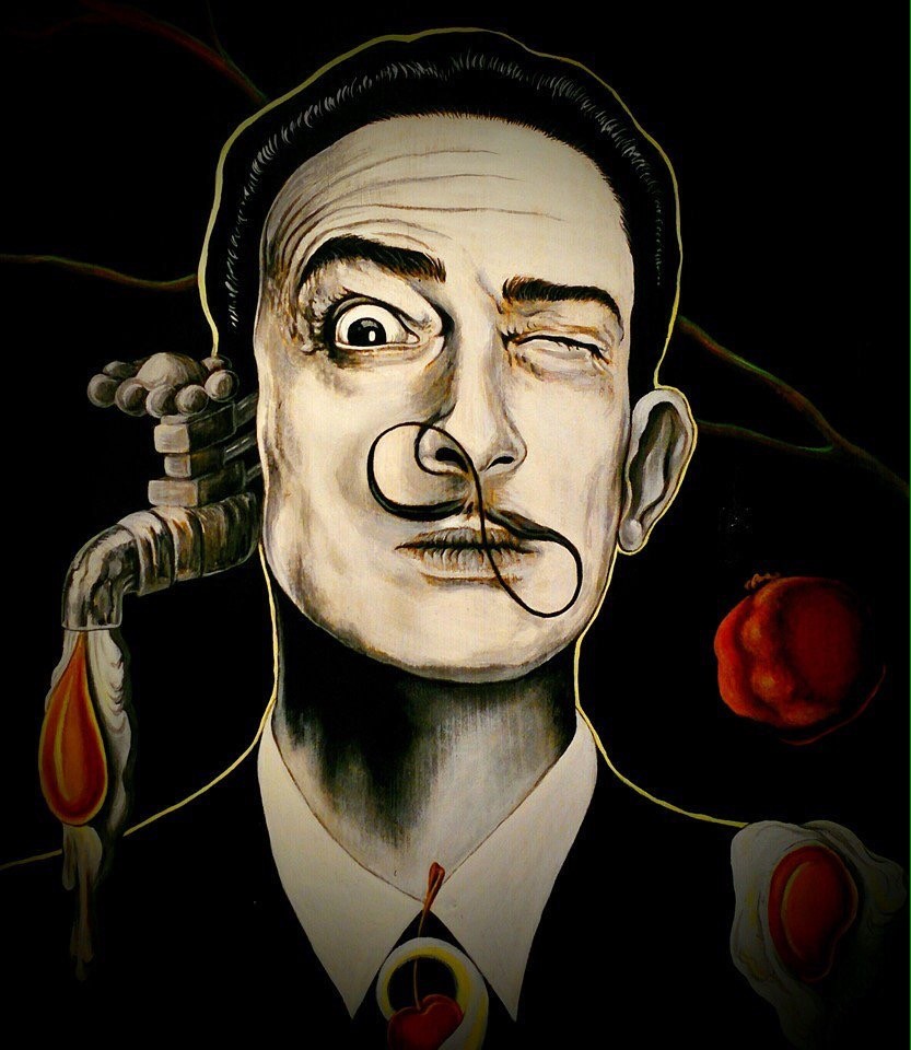 Dalí - surrealism art - be artist be art