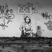 We can´t feed the Poor but We can fund the war - by Nme