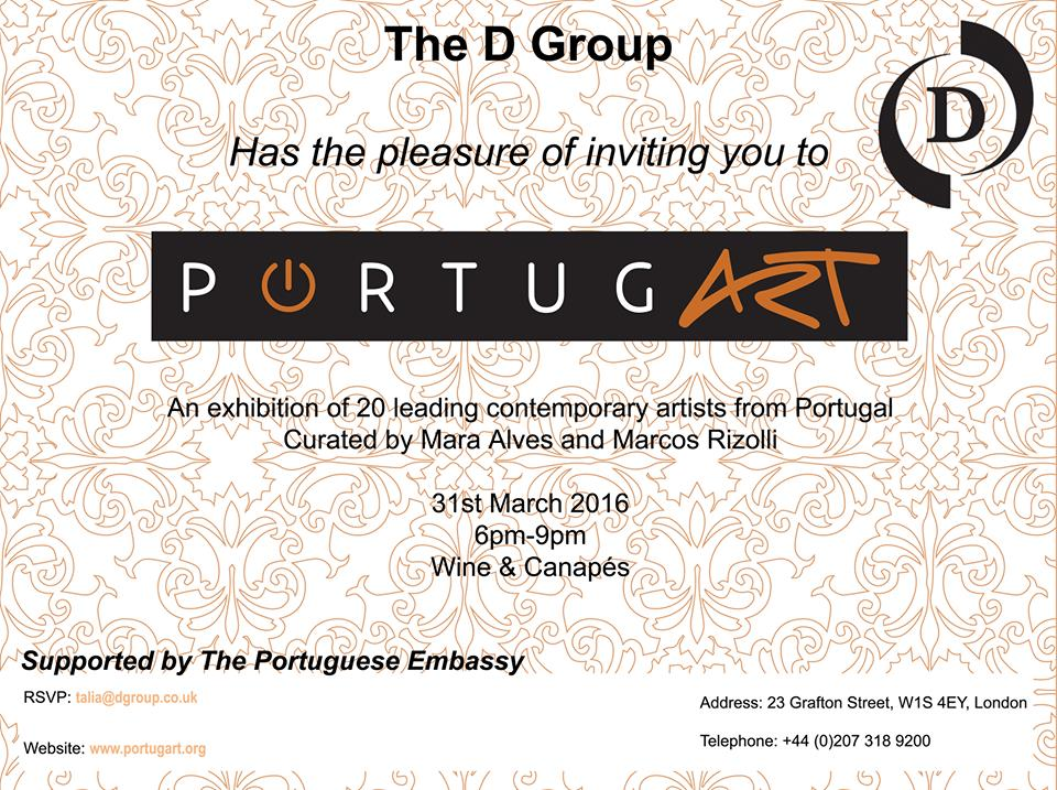 PortugArt - London Exhibition - Be artist Be art