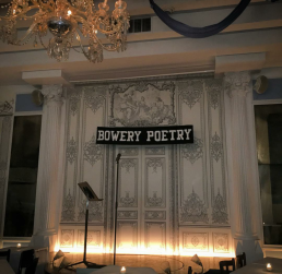 Bower Poetry Club (NY) -by Paloma Martinez - be artist be art