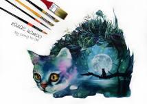 Fantasy Art - by Zazac Namoo - be artist be art