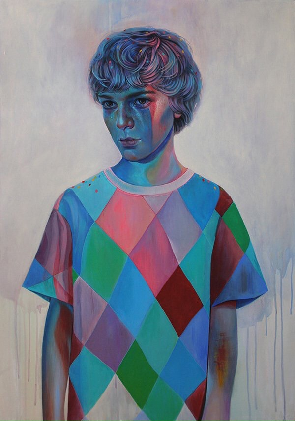 Multiple Sides Of A Child - by Martine Johanna - be artist be art