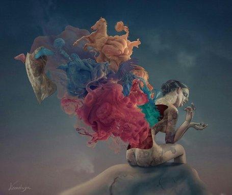 Dreams - Inside me - be artist be art